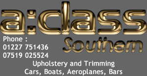 A:Class Southern for Upholstery and Trimming Cars, Boats, Aeroplanes, Bars